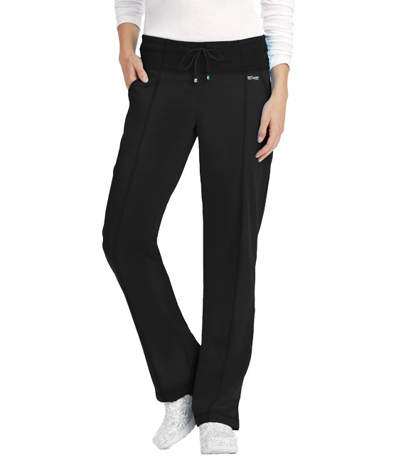 4PKT LOW RISE WIDE WAIST PANT product photo