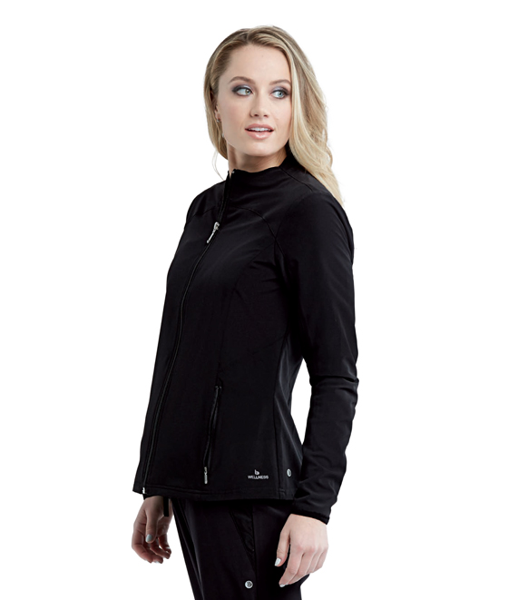 2PKT ZIP FRONT SOLID WARMUP product photo